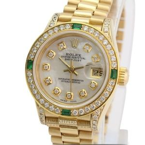 Rolex Lady Datejust 18K Yellow Gold 26mm Watch